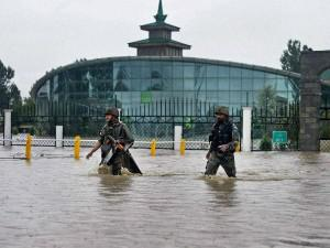 Trade & Industry badly effected by J&K Floods