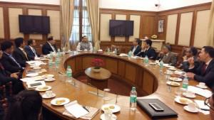 USIBC Digital Economy Delegation with Minister of State for Finance, Jayant Sinha