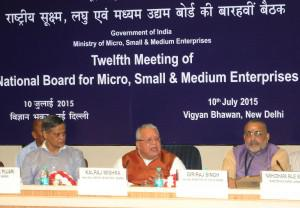 NBMSME Raised issues such as Rehablitation of Sick MSMEs, Ease of Doing Business & MSME Finance