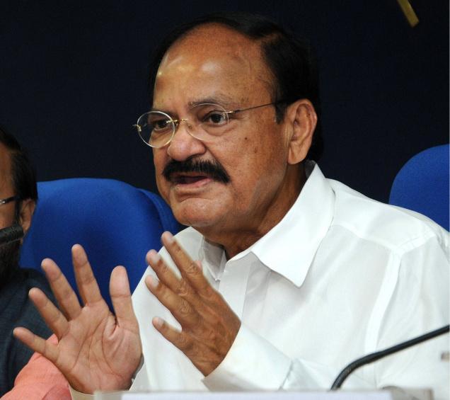 M Venkaiah Naidu , Vice President of India