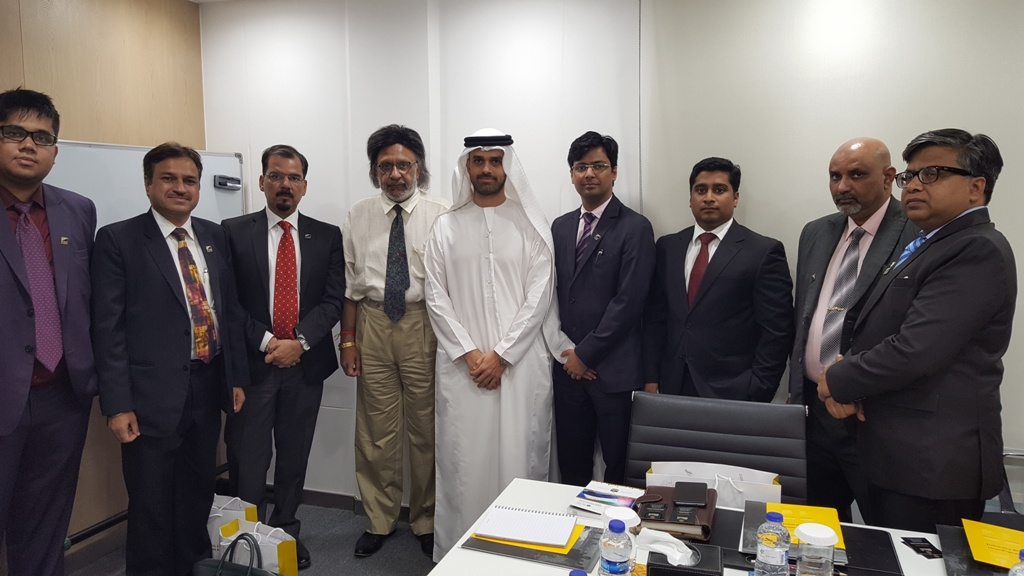 Eazy ERP, mr Kunal Singhal with delegation