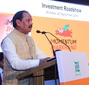 Raghubar Das, Chief Minister of Jharkhand, investment