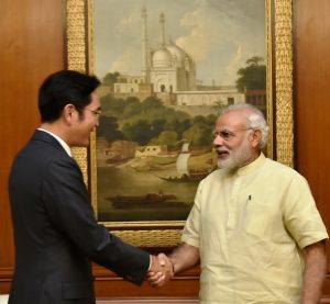 Vice Chairman of Samsung Met Prime Minister Narendra Modi