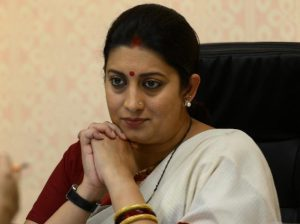 Smriti Irani Awarded Entrepreneurs from Textiles & Garments