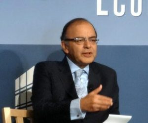 Arun Jaitley Opens London Stock Exchange