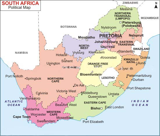 south-africa-map - SMEStreet: Knowledge & Networking for Growth