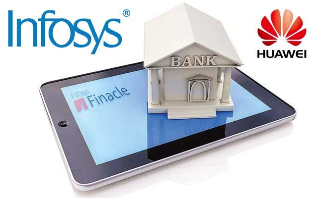 Infosys, Huawei, Financial Cloud Solution