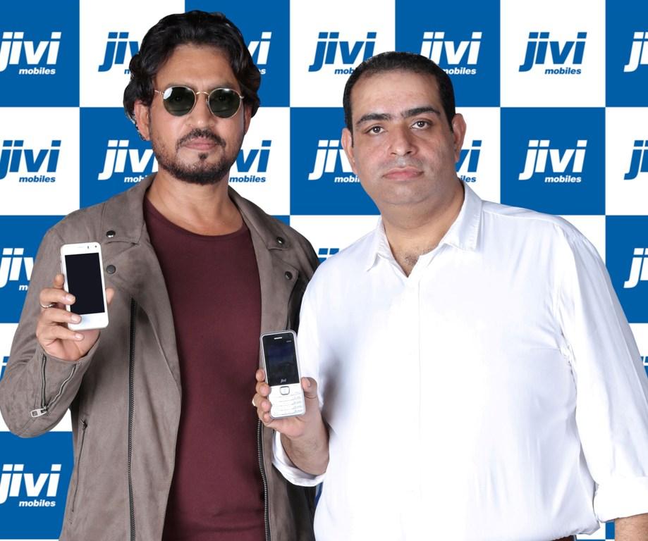 Pankaj Anand, Jivi Mobiles and Irrfan Khan Bollywood Actor