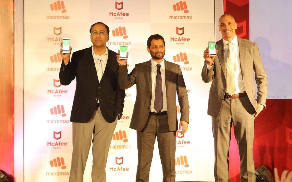 Anand Ramamoorthy, Vikas Jain and Christopher Young, Intel Security, Micromax