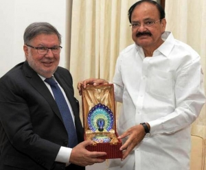 French Minister Alain Vidalies Meets Venkaiah Naidu, Discusses Scope of Collaboration