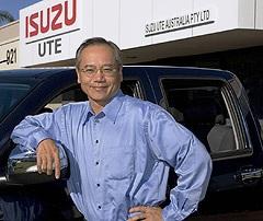 Hitoshi Kono, Isuzu motors
