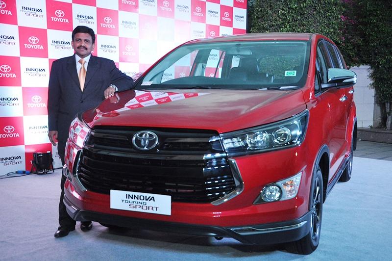 Toyota Kirloskar, N Raja, Fortuner,