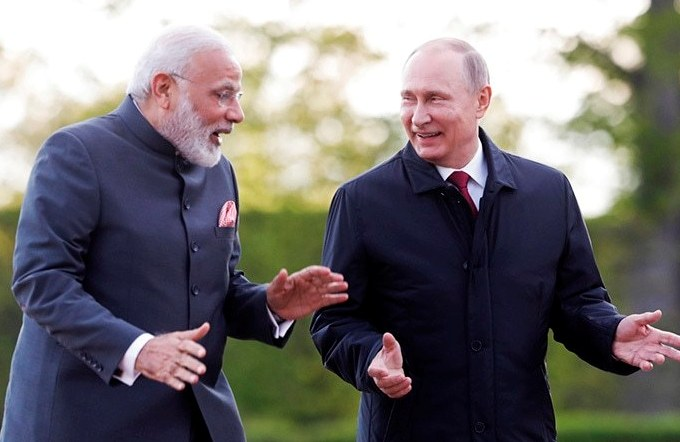 Narendra Modi, India-Russia, Putin, St. Petersburg Declaration