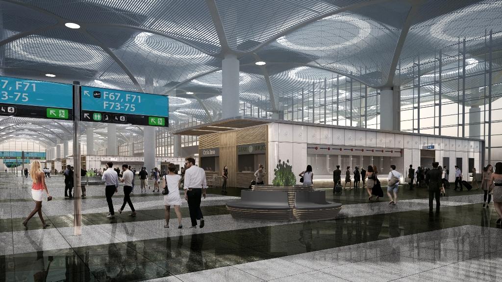 Istanbul New Airport, SITA