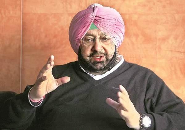 amarinder singh, Punjab CM