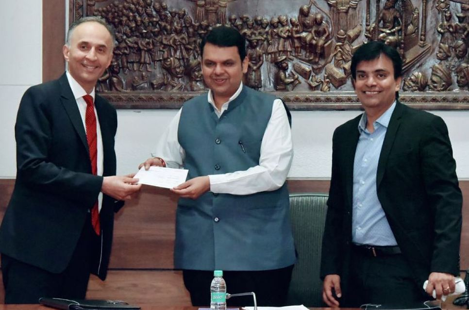 Deutsche Bank, MoU, Rural Development, Maharashtra, MVSTF, Social Transformation,