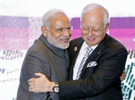 Narendra Modi, Nazib Razak, Defence, Trade, Investments, ASEAN Summit, Countering Terror, India-Malaysia, Bilateral Relations
