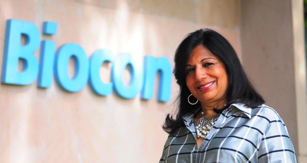 Kiran Mazumdar Shaw, Biocon