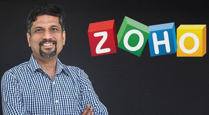 Sridhar Vembu, Zoho, Zoho Books, ICICI Bank, Digital Services, MSMEs,