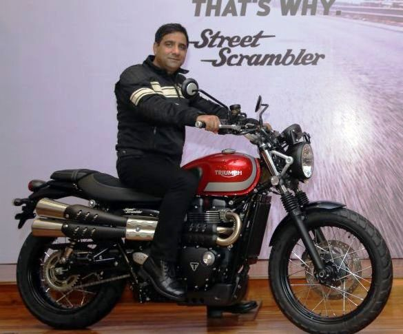 Vimal Sumbly, Triumph India