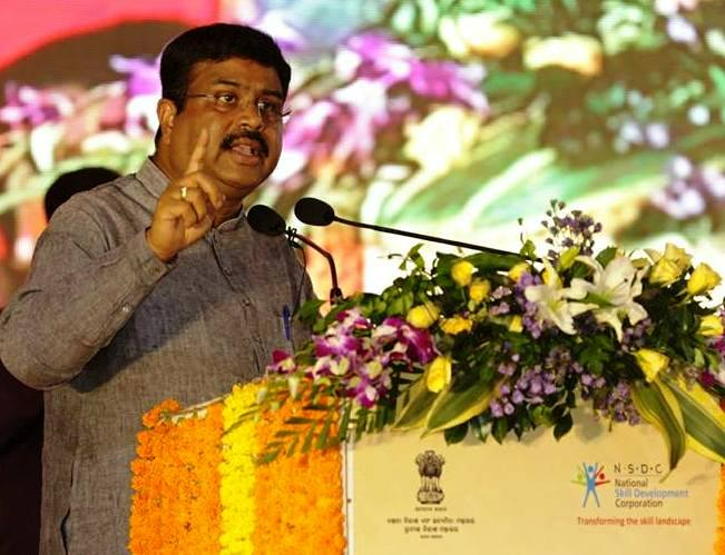 Dharmendra Pradhan, Skill Development