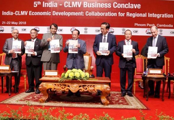 Suresh Prabhu, CLMV Business Conclave