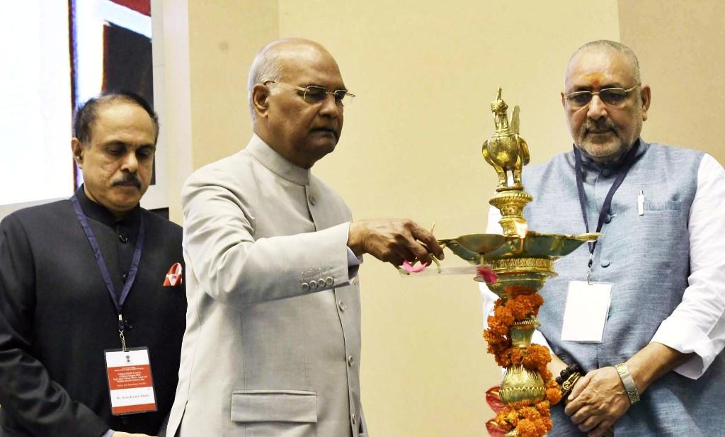 Ram Nath Kovind, Giriraj Singh, AK Panda, MSME Ministry, Udyam Sangam