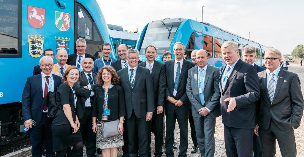 Alstom, Hydrogen, Railways, Train, Germany