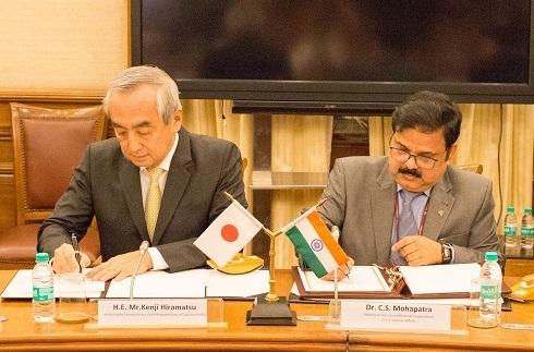 C.S. Mohapatra, JICA, India-Japan