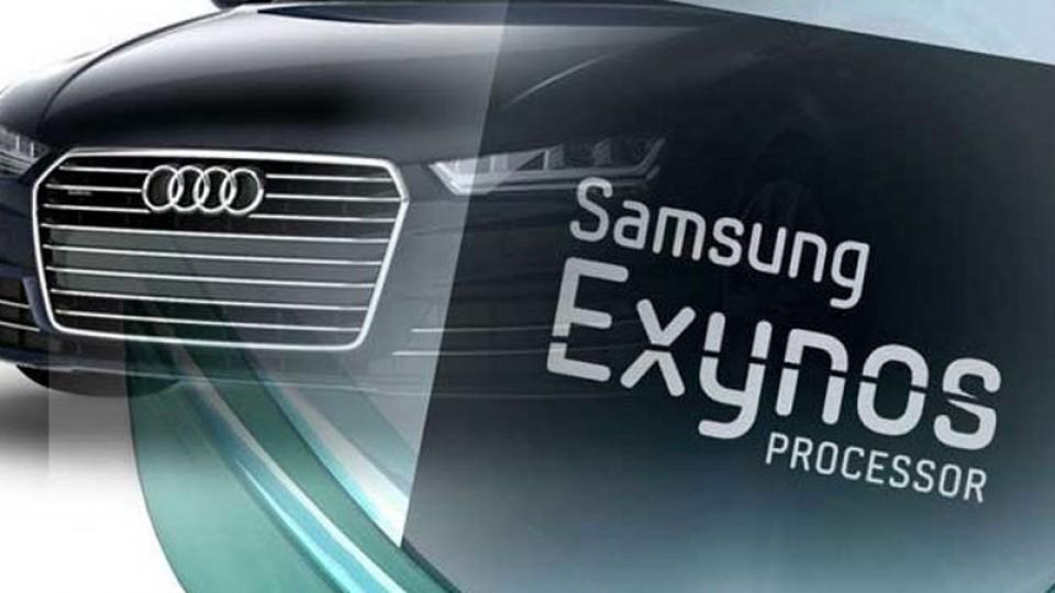 Samsung, automotive chip, Exynos Auto V9, Audi