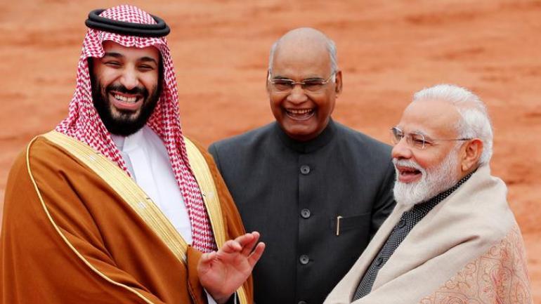 Narendra Modi, Prince Salman, Ram Nath Kovind, JK Pathak