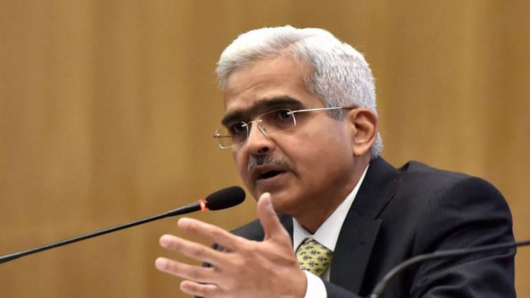 Shaktikant Das, Reserve Bank of India