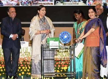 Smriti Irani, Sushma Swaraj , Textiles Ministry