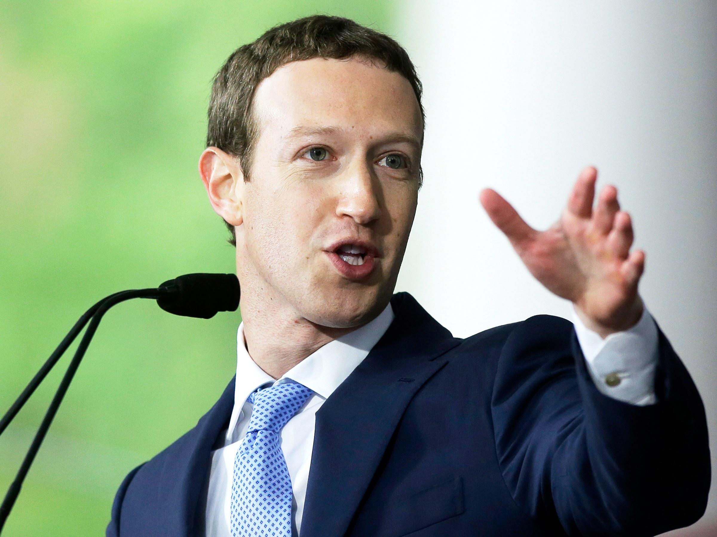 Mark Zukerburg, Facebook