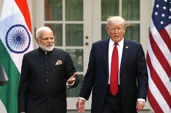 Narendra Modi, Donald Trump,