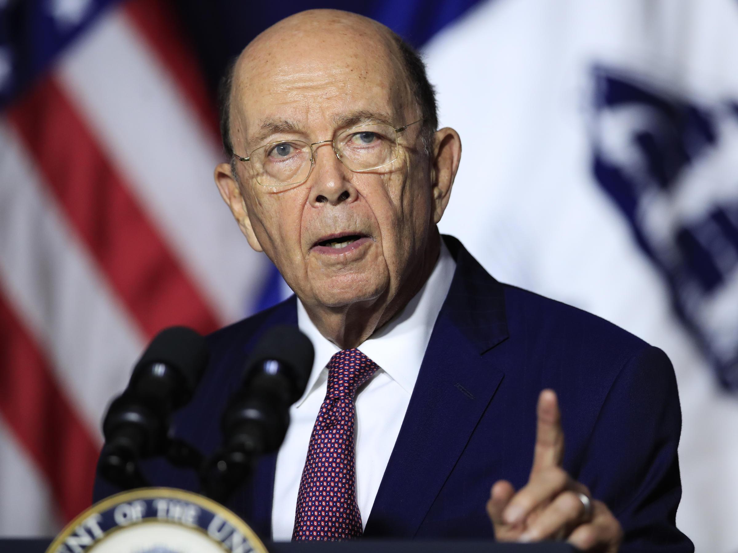 Wilbur Ross , US Commerce Secretary