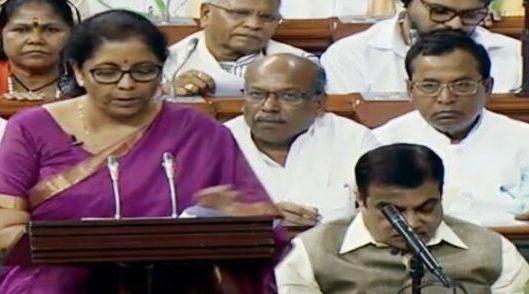 Nirmala Sitharaman, Lok Sabha, FDI