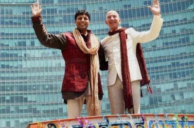 Amazon India, Jeff Bezos, Amit Agarwal