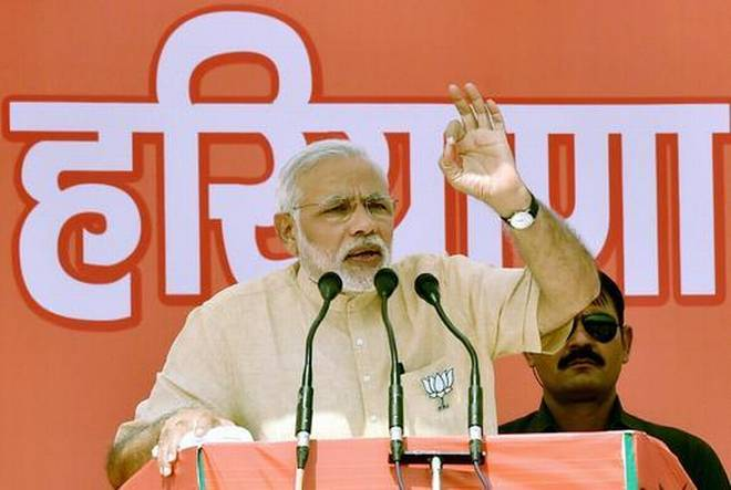 Narendra Modi, Haryana,