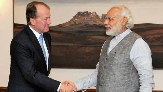 US India Strategic Partnership Forum , John Chambers, narendra Modi