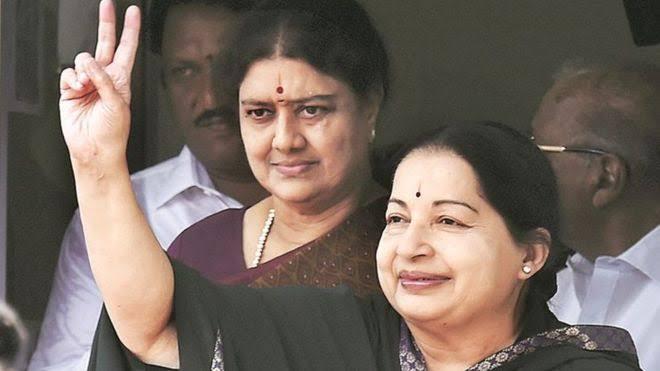 Sasikala, Jayalalitha