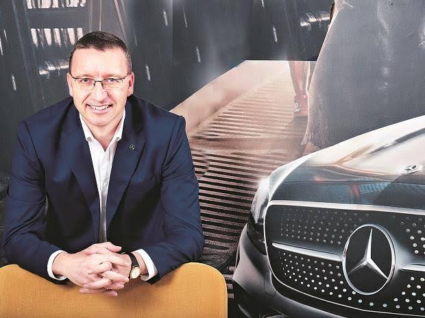 Martin Schwenk, Mercedez Benz