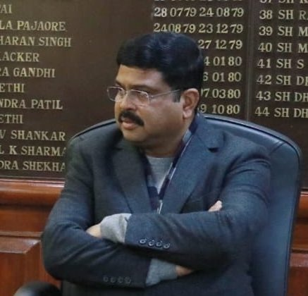 Dharmendra Pradhan, Petroleum Minister