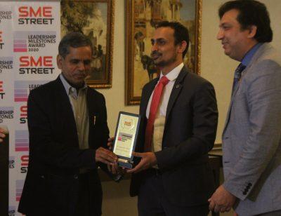 SMEStreet Leadership Milestones Awards, Ram Mohan MIshra, Hmanshu B Patel, Faiz Askari