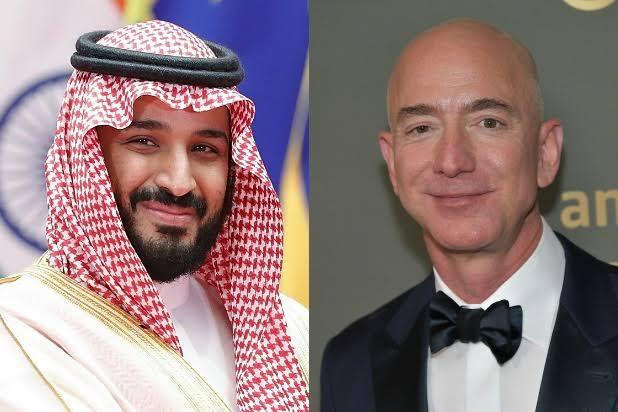 Saudi, Prince Bin Salman, Jeff Bezos