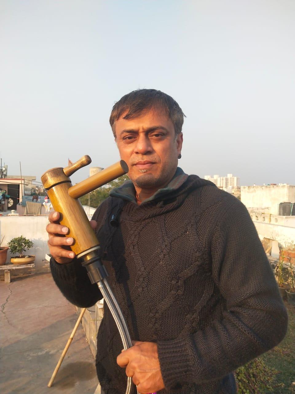 Kingshuk Sircar, SAN ECO Vision, Bamboo, Social Entrepreneurship, Faiz Askari