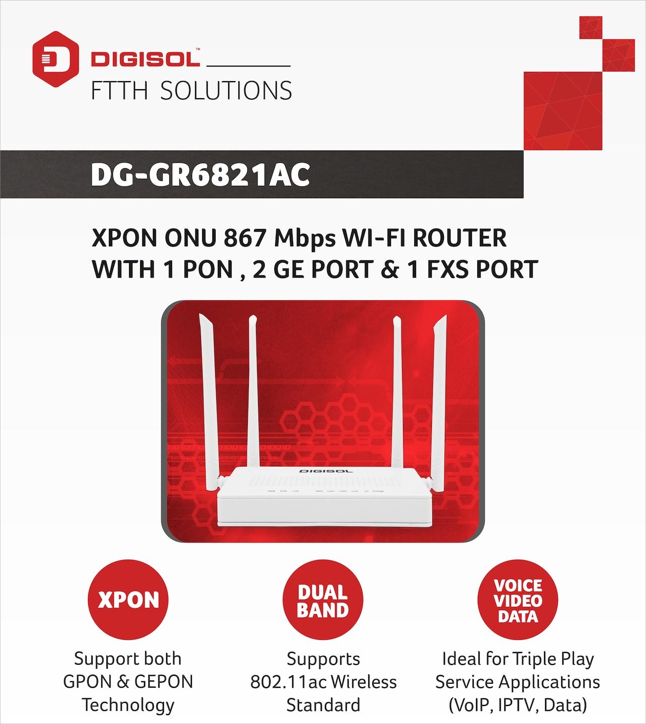 DG-GR6821AC , DIGISOL
