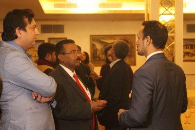 From Left to Right: Faiz Askari, P Udayakumar and Mr. Himanshu B. Patel