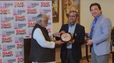 SMEStreet Leadership Milestones Awards, FAiz Askari, Ram Mohan Mishra, Keshava Rao