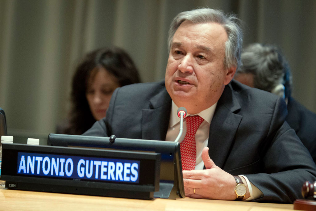 United Nations, António Guterres